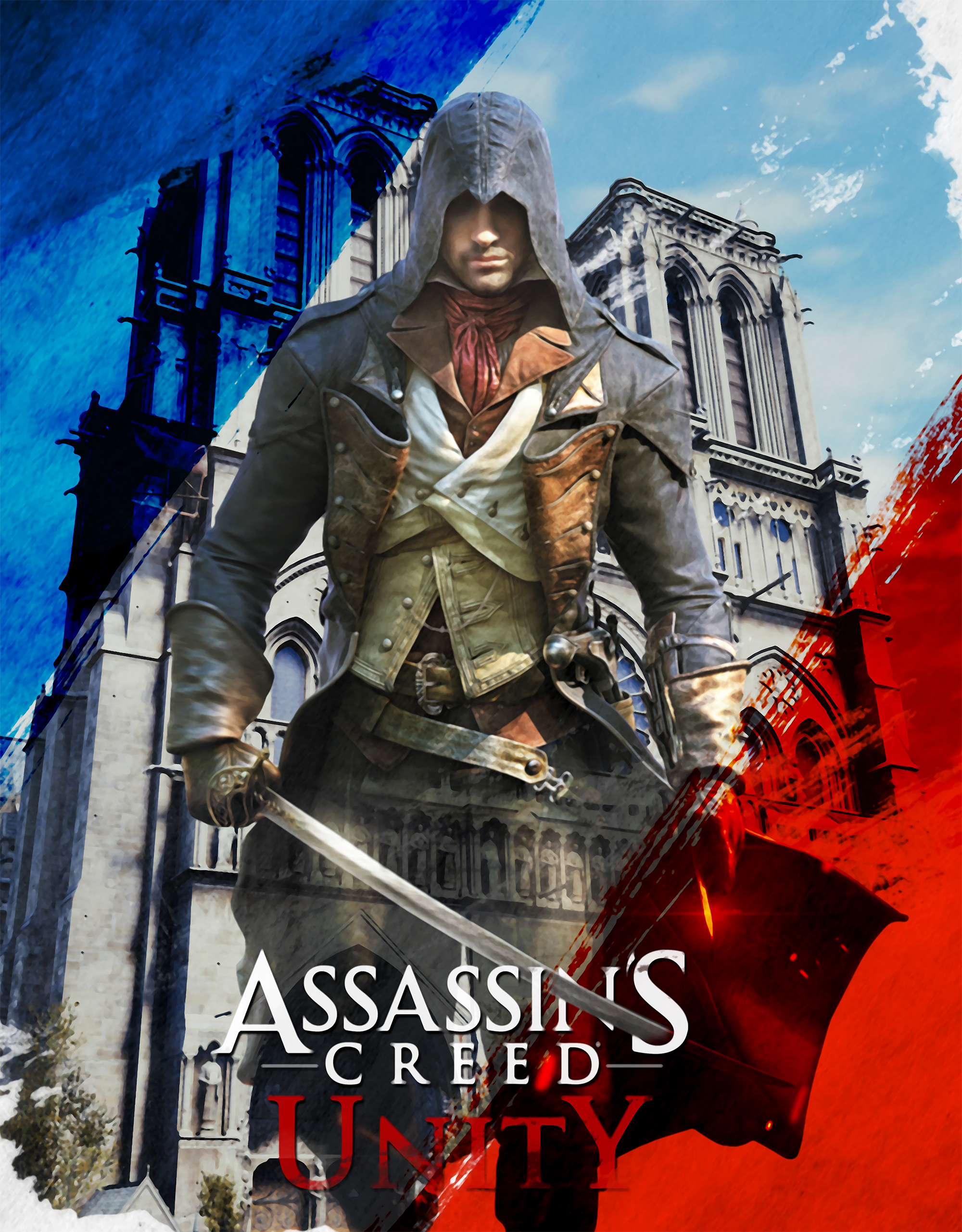 Assassin's Creed Unity Poster 3 – ACU Competition Entry