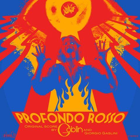 Profondo Rosso blacklight LP print
