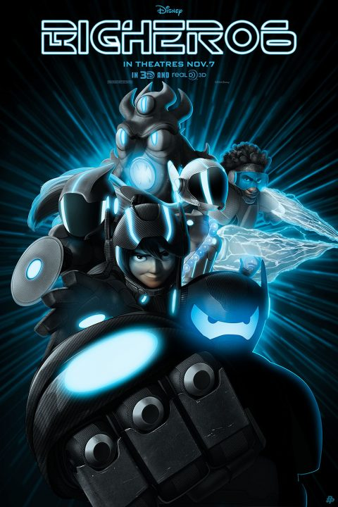 Big Hero 6 – Tron