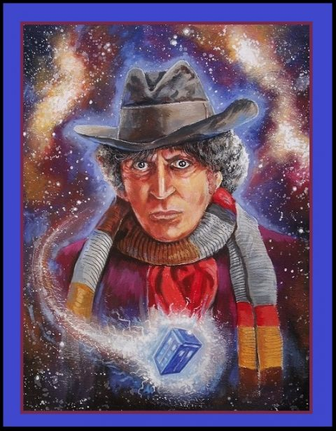 Tom Baker as Doctor Who