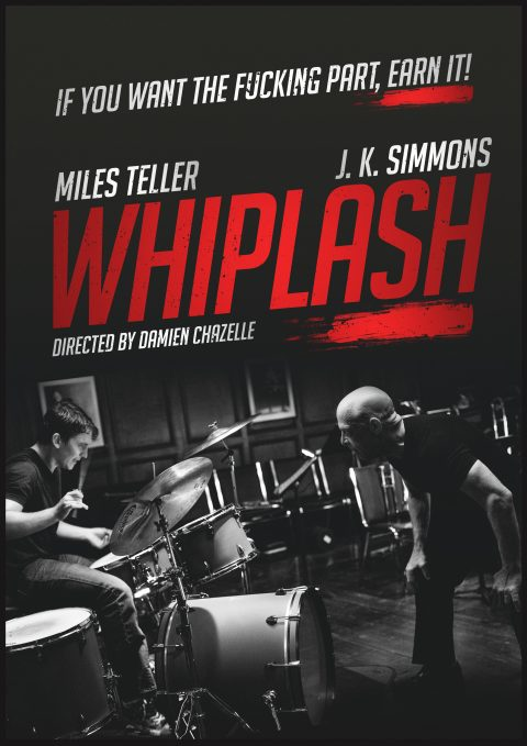 Whiplash – Alternative Movie Poster