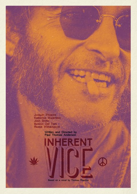 Inherent Vice – Version 02 – Alternative Movie Poster (2015)