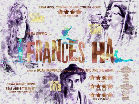 Frances Ha (alternative quad poster)
