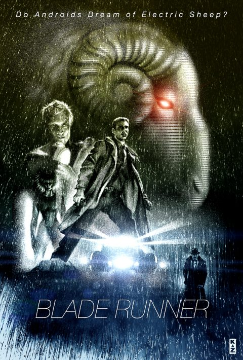 Blade Runner/ Do Androids Dream of Electric Sheep? by Philip K Dick.