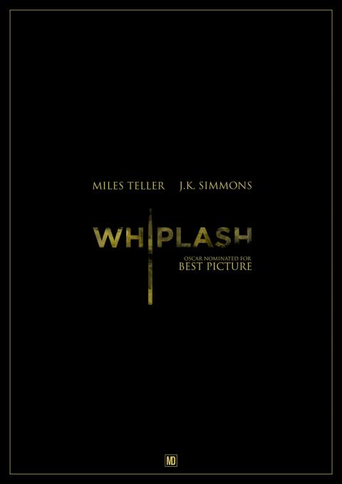 Whiplash Minimal Poster