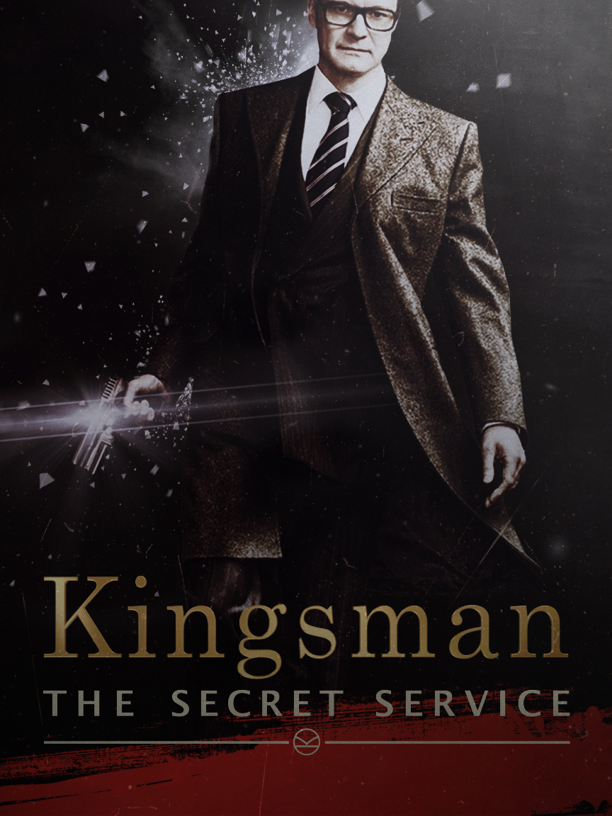 Kingsman the secret service alternative movie poster poster
