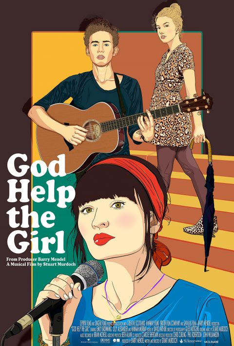 God Help the Girl (one-sheet poster)