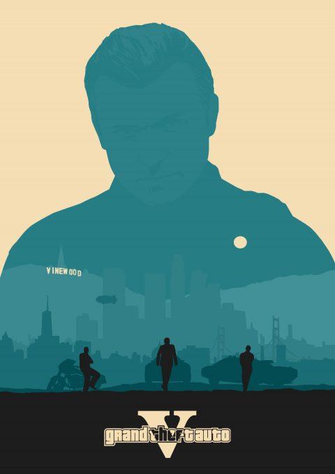 Grand Theft Auto V – Michael De Santa