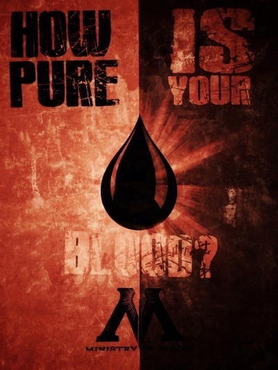 Harry Potter- Blood Propaganda Poster