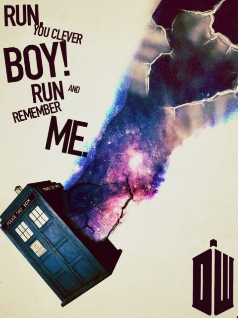 Doctor Who- Run Boy Run