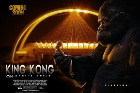 king kong on marine drive