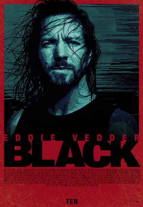 eddie vedder BLACK