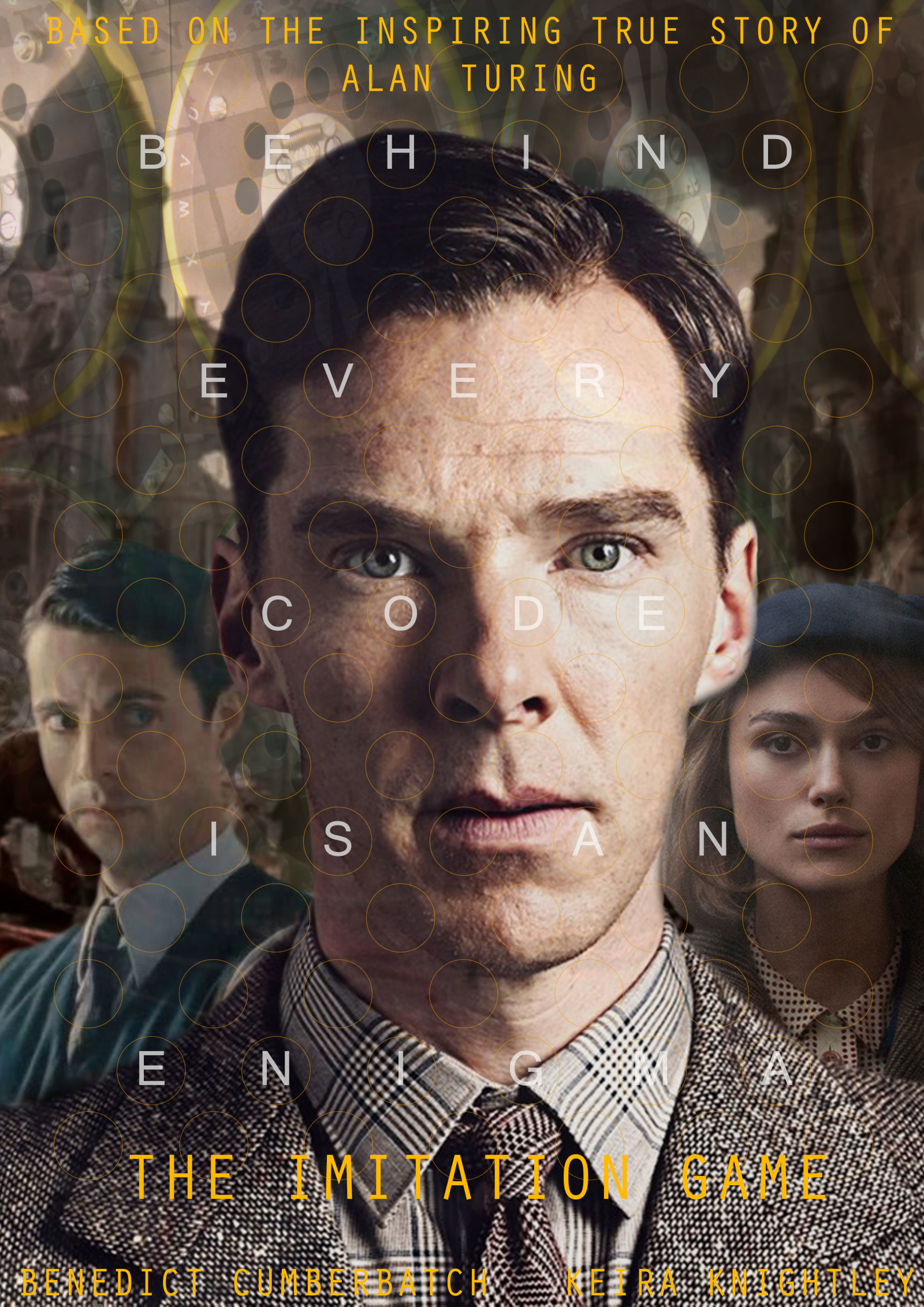 imitation game Perhaps not quite as dashing as the actor matthew goode who plays him in the imitation game, alexander nevertheless had a reputation for urbanity and charm.