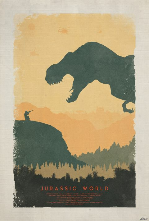 Creation – Jurassic World Poster