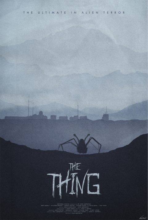 Winter – The Thing (1982) Poster