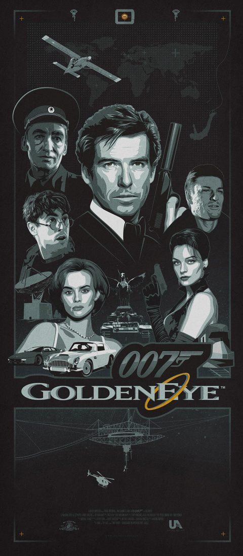 007 Goldeneye Poster