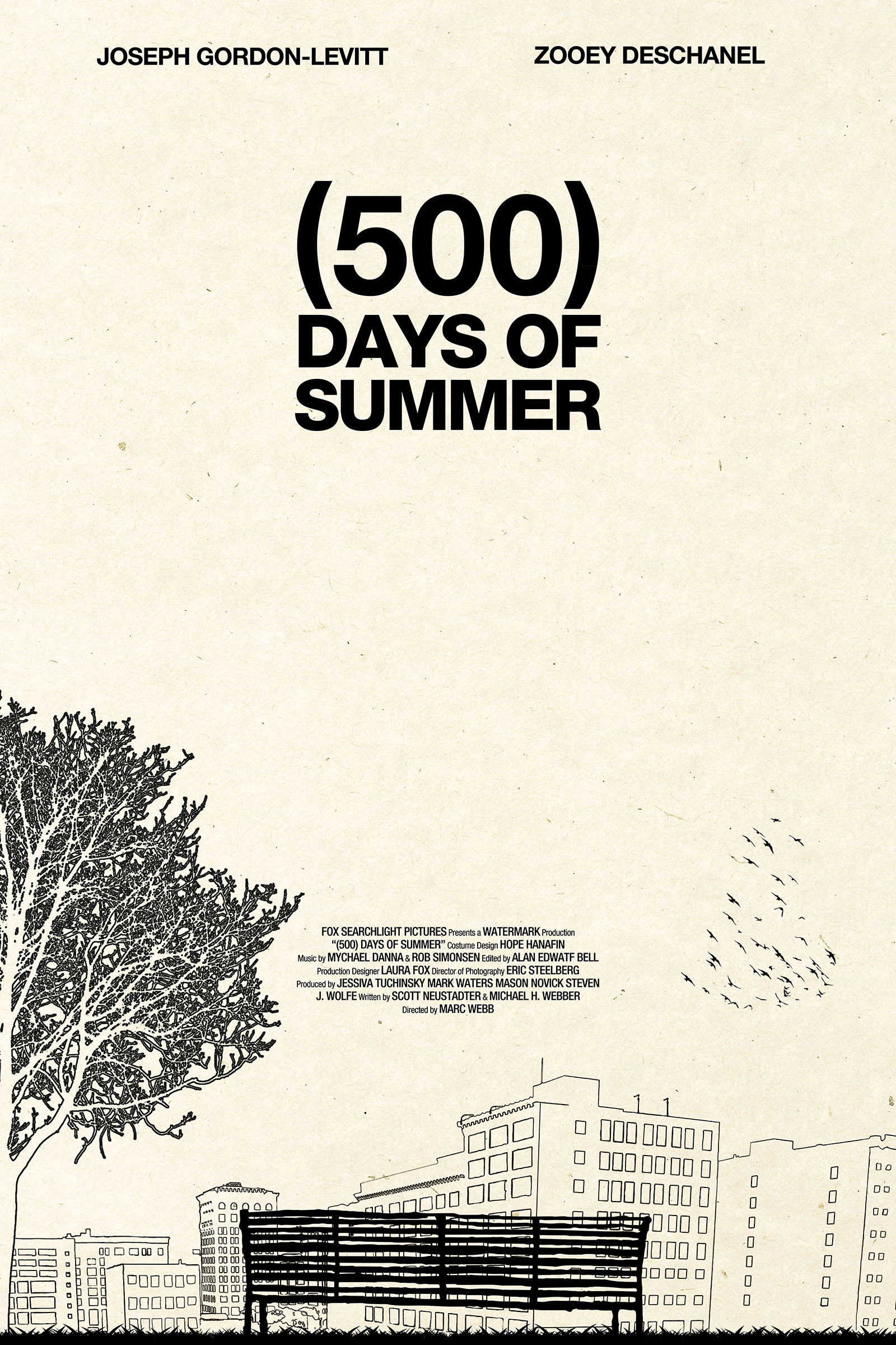 (500) Days of Summer — Poster Spy