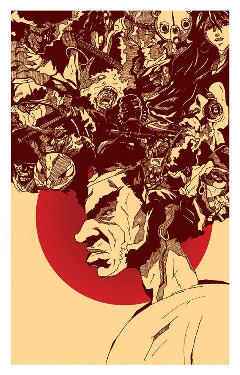 Afro Samurai Hero Complex Gallery Print