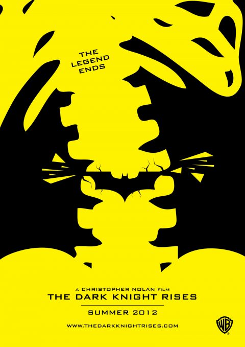 The Dark Knight Rises poster design