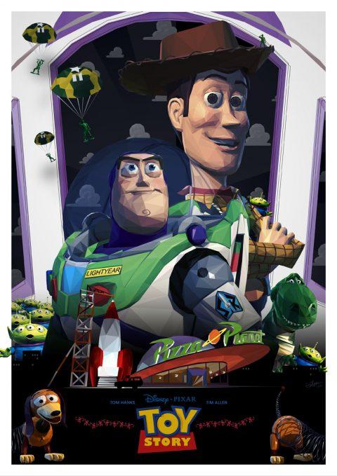 Toy Story Triptych