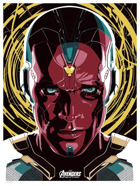 VISION – AVENGERS AGE OF ULTRON.