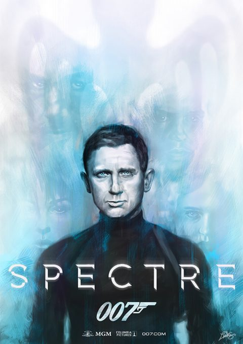 "James Bond 007 ""Spectre"" poster"