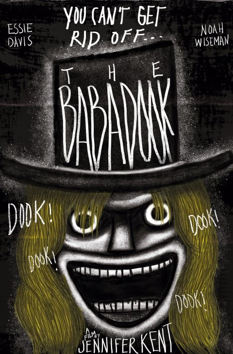 The Babadook alternative movie poster