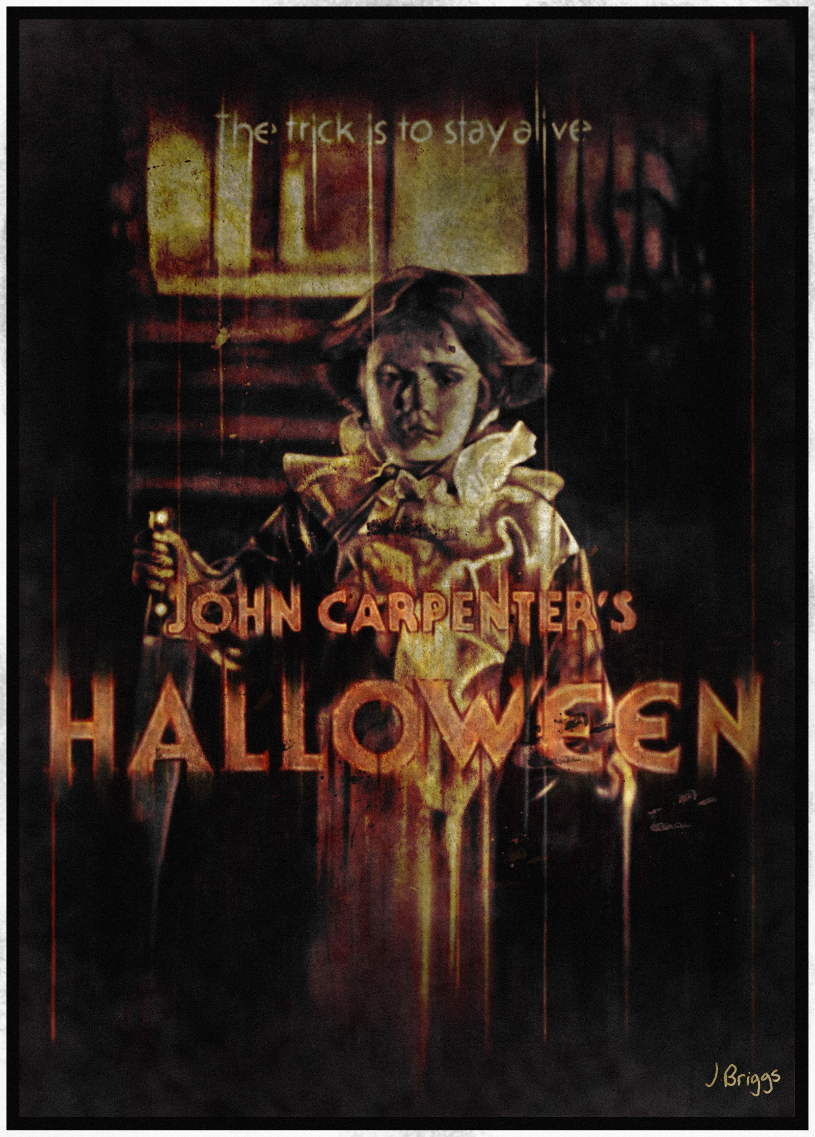 Halloween 1978 Movie Poster.Halloween 1978 Poster Posterspy