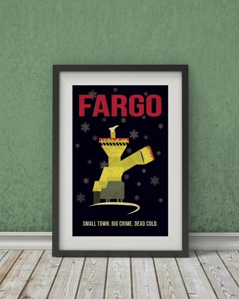 Fargo-Inspired Movie Poster � Fan Art, Minimalist