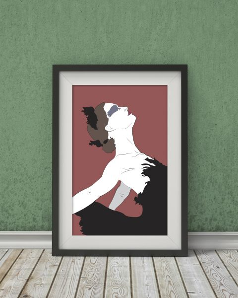 Black Swan-Inspired Poster � Minimalist, Wall Art, Movie Poster