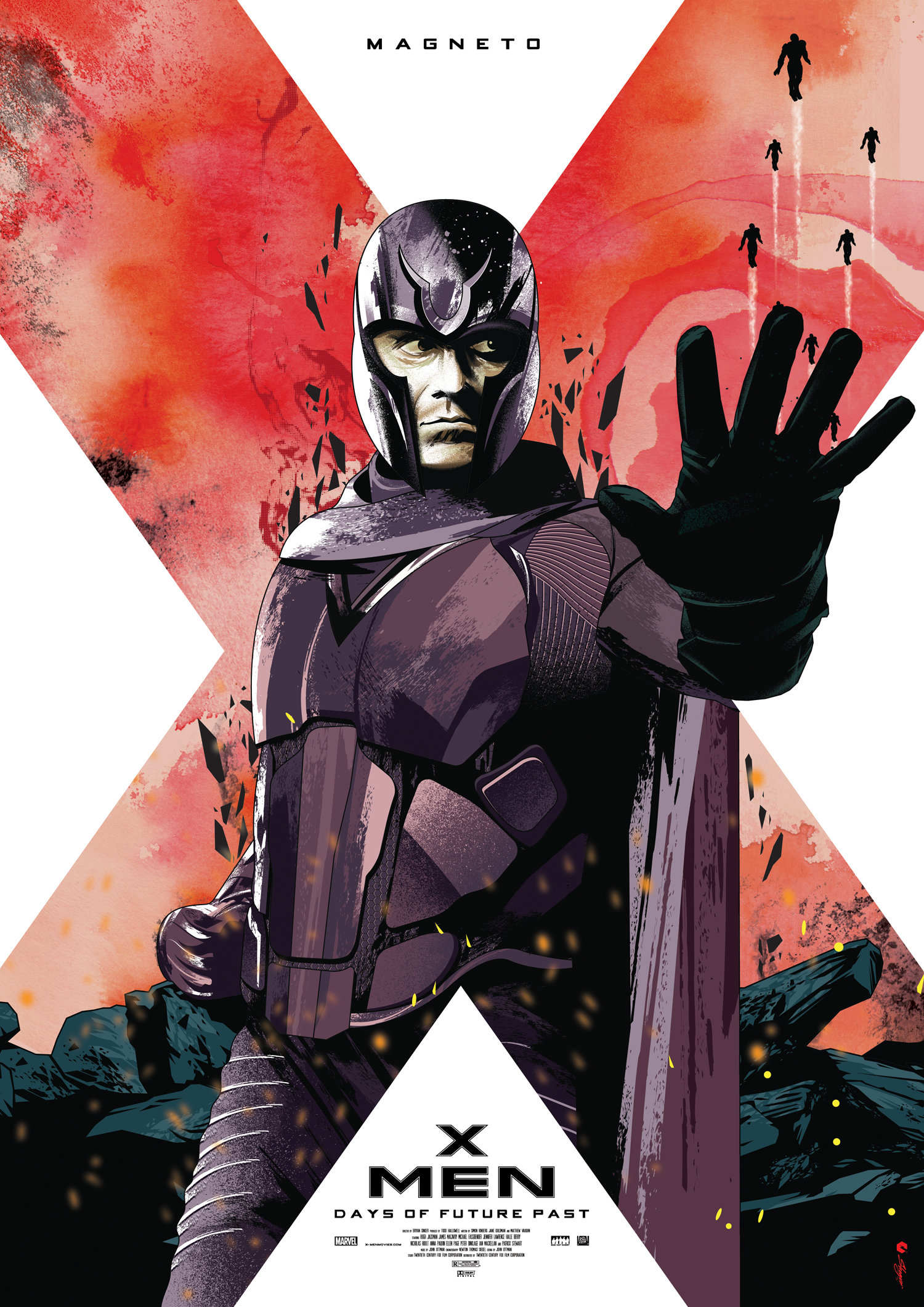 the gallery for gt x men days of future past poster magneto