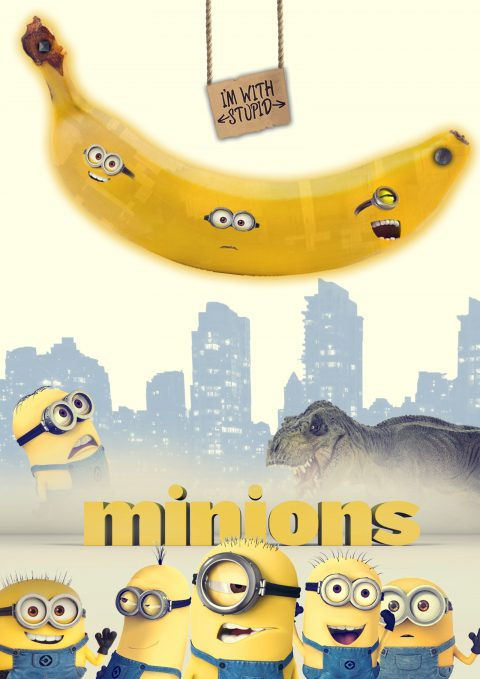 Dino and Banana  – Minions Competition