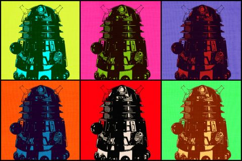 Dalek Pop Art