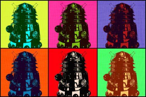 Dalek Pop Art