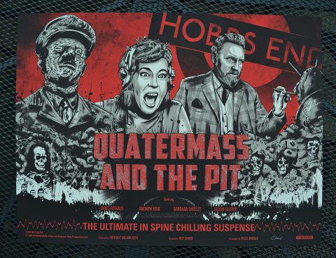 Quatermass & The Pit official screenprint