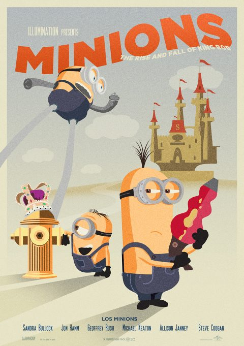 MINIONS – THE RISE AND FALL OF KING BOB