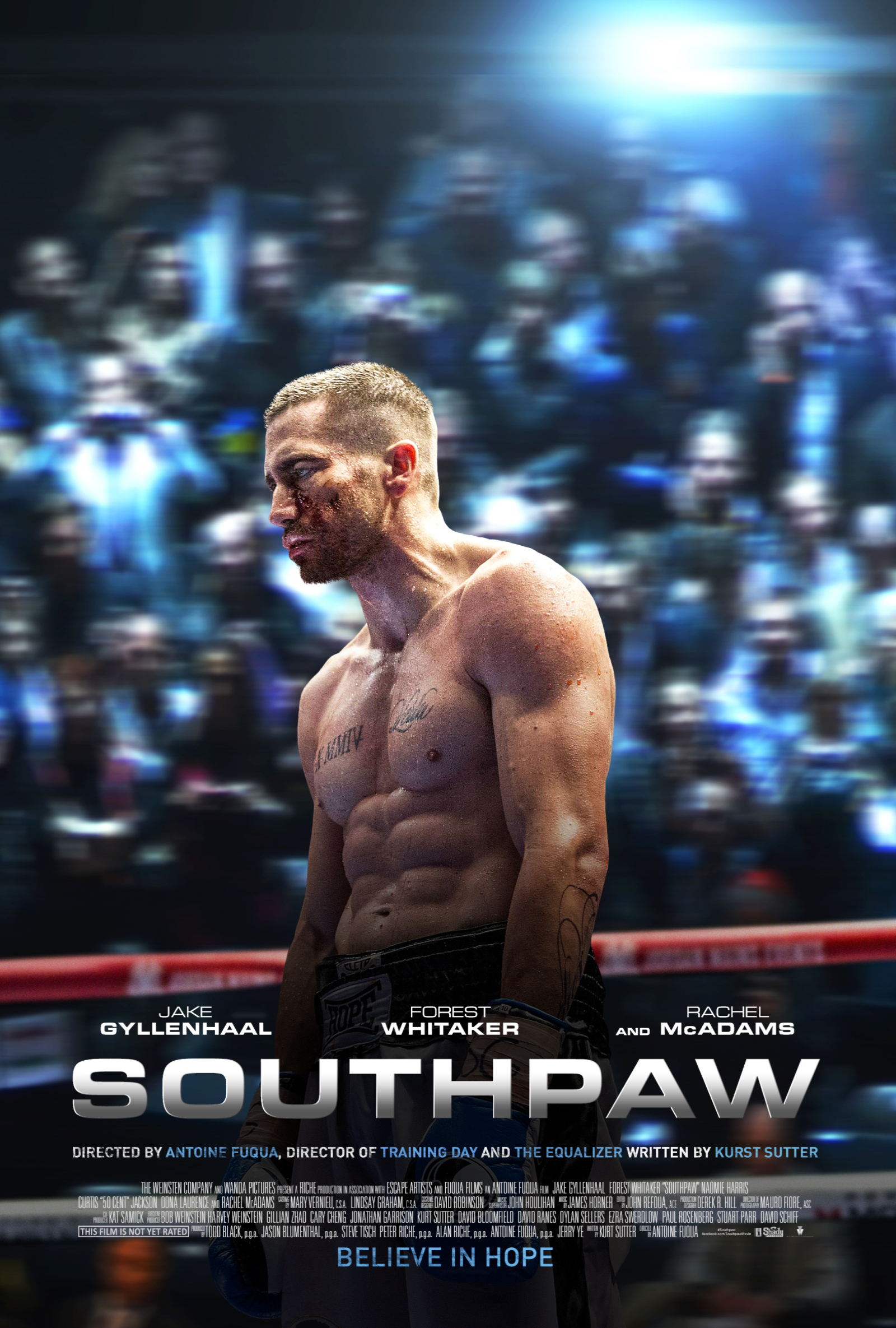 Southpaw DVD Release Date October 27, 2015