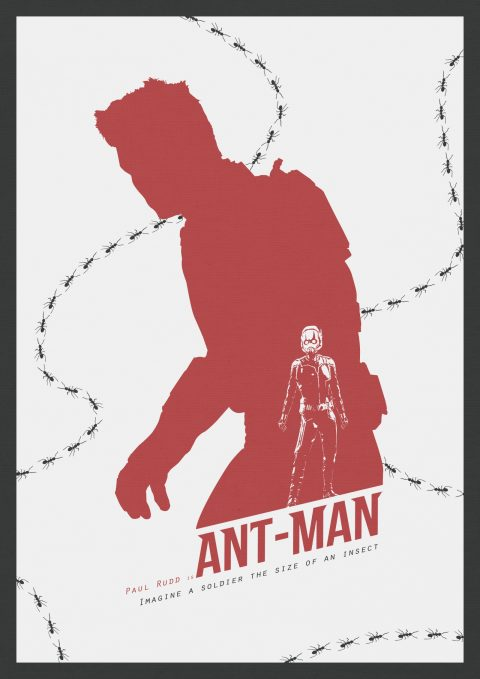 Pick on someone your own size – Antman