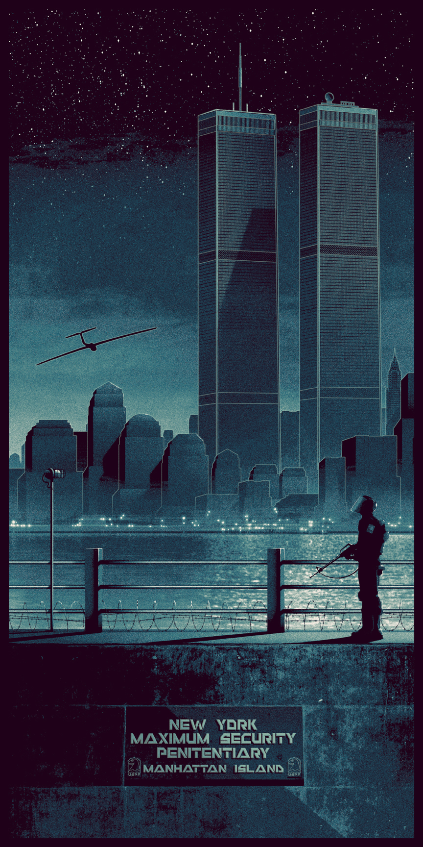 Escape From New York Poster.Escape From New York Posterspy