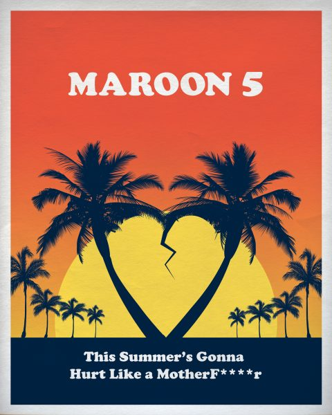 Maroon 5 promo poster