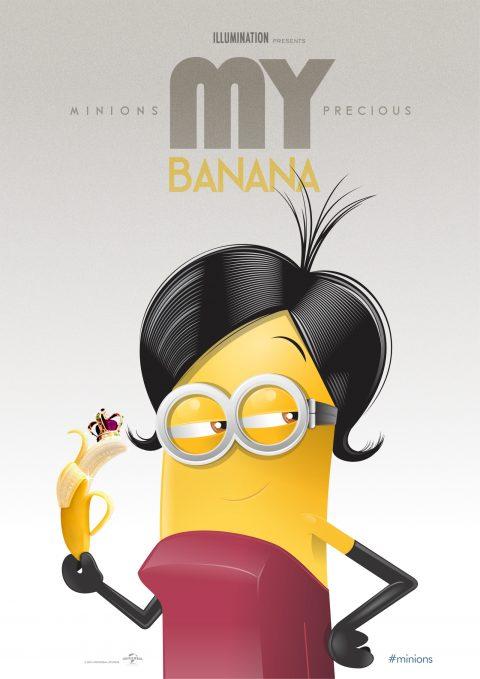 MINIONS – My precious BANANA!
