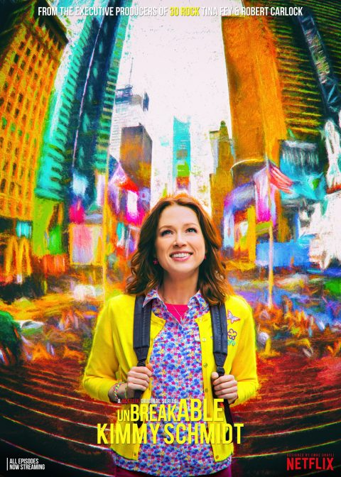 Unbreakable Kimmy Schmidt – Key Art Design
