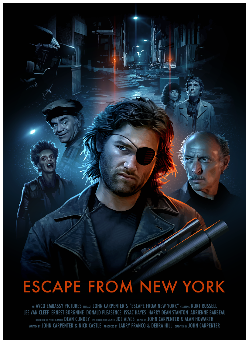 Escape from New York - PosterSpy