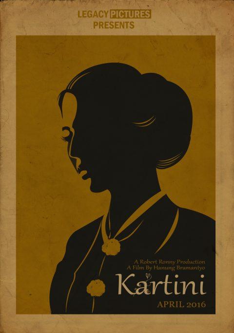 Vintage Kartini Alt-Poster