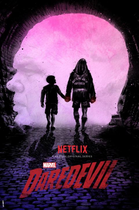 Official Daredevil Design for Marvel and Netflix