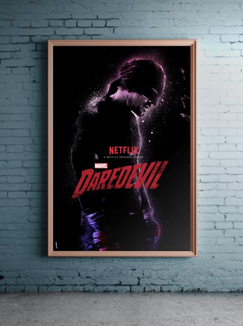 Official Daredevil Art for Marvel