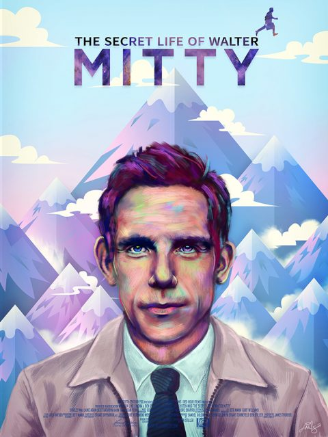 The Secret Life Of Walter Mitty alternative poster