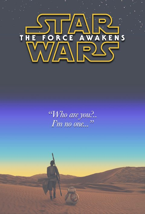 Star Wars Episode VII The Froce Awakens – Rey Poster