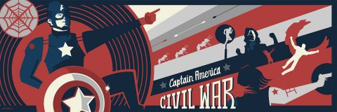 Captain America: Civil War Print Set