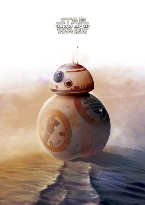 BB-8´s Journey Poster